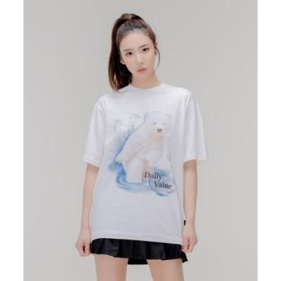 tシャツ Tシャツ 【DUCKDIVE 】SWIMMNG BEAR T-SHIRT / スイミングベアティーシャツ