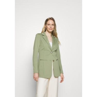 クリーム ジャケット&ブルゾン レディース アウター ANETT - Short coat - oil green