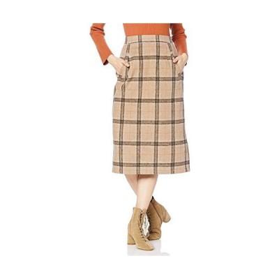 フリーズマート スカート チェックIラインタイトスカート レディース 131-9220055 ベージュチェック 日本 FR (FREE サイ