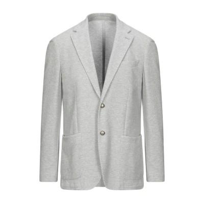 イレブンティ ELEVENTY テーラードジャケット グレー 54 コットン 100% テーラードジャケット