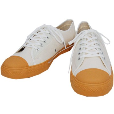 DAPPER'S ダッパーズ スニーカーLOT1403【Dappers Brand Canvas Sneakers Type Low Cut】WAHITE