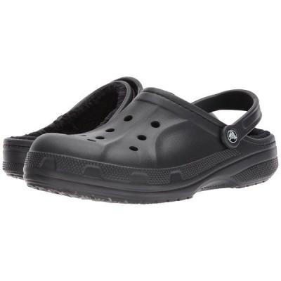 クロックス サンダル シューズ メンズ Ralen Lined Clog Black/Black