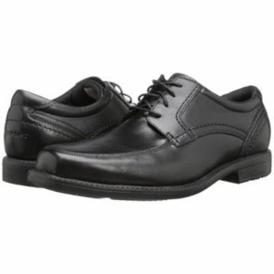 ロックポート 革靴・ビジネスシューズ Style Leader 2 Apron Toe Black Waxed Calf