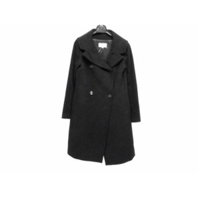 エムプルミエ M-PREMIER コート サイズ38 M レディース 黒 冬物【中古】20200401