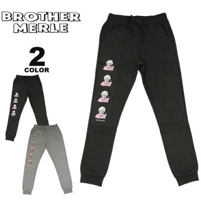 ブラザーマール パンツ BROTHER MERLE Betty SWEAT PANTS スウェットパンツ スエット 裏起毛 ボトムス プリント メンズ レディース ユニセックス 全2色 S-L