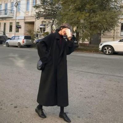 チェスターコート レディース 長袖 ロング丈 コート アウター 厚手 ロングコート 無地 防寒 ゆったり 暖かい あったか おしゃれ 秋物 冬物 新作