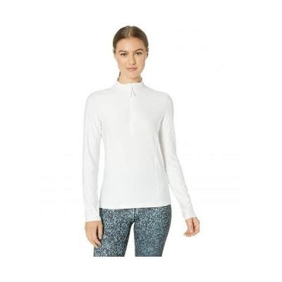 Prana プラナ レディース 女性用 ファッション Tシャツ Catarina Long Sleeve Sun Top - White