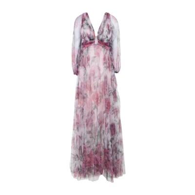 マルケッサ・ノッテ MARCHESA NOTTE ロングワンピース&ドレス ライトピンク 6 ナイロン 100% ロングワンピース&ドレス