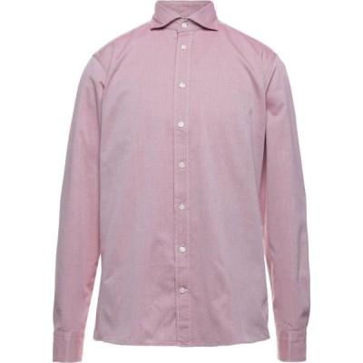 イートン ETON メンズ シャツ トップス Patterned Shirt Maroon