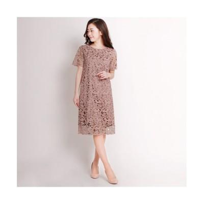 MARTHA(マーサ) ショートスリーブレースワンピース (ワンピース)Dress