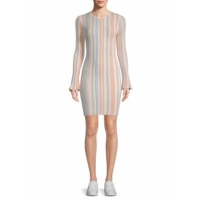 ロニーコボ レディース ワンピース Striped Sheath Dress