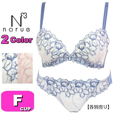 narue ナルエー ブラジャー 21-18501 NCKルージュ 3/4カップ ブラジャー単品 Fカップ