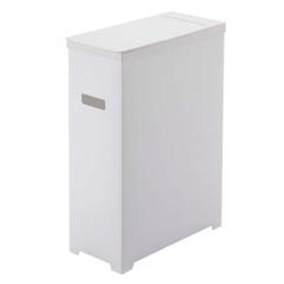 ゴミ箱 分別 スリム 蓋付き 縦型 タワー tower 35L キッチン 組み立て式 コンパクト ホワイト ( スリム蓋付きゴミ箱 ごみ箱 ダストボックス 35 リットル 角型 おしゃれ シンプル 山崎実業 プラスチック カウンター 下 スタイリッシュ )