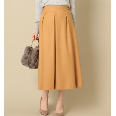 【シップス/SHIPS】 ウールワイドスカート