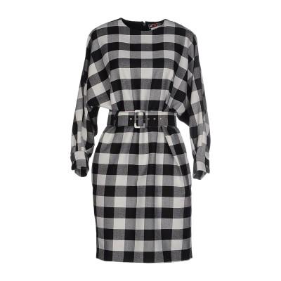 エムエスジーエム MSGM ミニワンピース&ドレス ブラック 40 バージンウール 100% ミニワンピース&ドレス