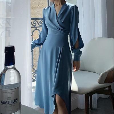 超高品質✨セクシー ✨ レディース エレガント ワンビース 上品な雰囲気を与える ワンビース 大人気 二次会 結婚式 パーティー 気質 スリム ドレス