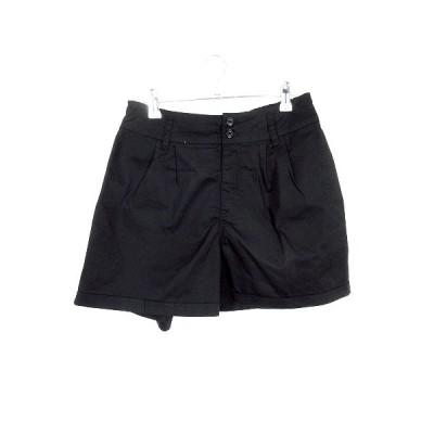 【中古】ディッキーズ Dickies パンツ ショート ショーパン 無地 28 黒 ブラック /MO レディース 【ベクトル 古着】