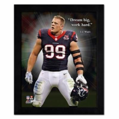 Photo File フォト ファイル スポーツ用品  J.J. Watt Houston Texans 18 x 22 ProQuote Photo