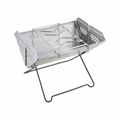 V型 スマートグリル UG-0048 【送料無料】(調理器具、キッチン用品、コンロ、キャンプ、アウトドア、バーベキュー、網焼きグリル)