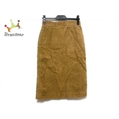 オールドマンズテーラー ロングスカート サイズS レディース 美品 - ブラウン コーデュロイ   スペシャル特価 20200602