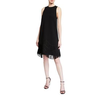 リラローズ レディース ワンピース トップス Fringe A-Line Cocktail Dress