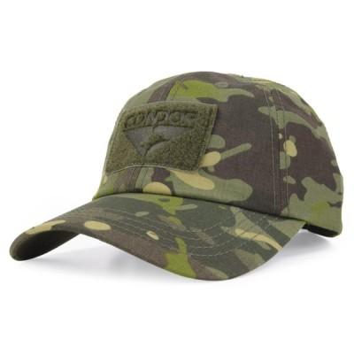 CONDOR タクティカルキャップ 帽子 ミリタリー 迷彩柄シリーズ [ マルチカムトロピック ] コンドル ベースボールキャップ メンズ