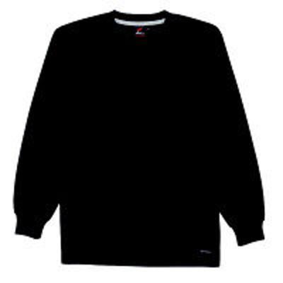 自重堂自重堂 長袖Tシャツ 男女兼用 ブラック M 85224(取寄品)