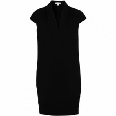 ホイッスルズ Whistles レディース ワンピース Vネック ワンピース・ドレス Paige V Neck Crepe Dress Black