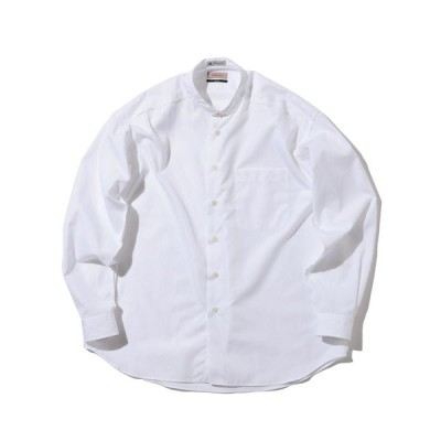 シャツ ブラウス BEAMS LIGHTS / トーマスメイソン アウトロック バンドカラーシャツ