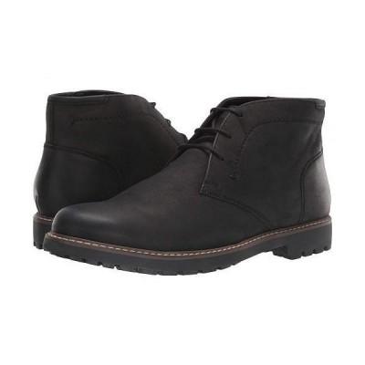 Florsheim フローシャイム メンズ 男性用 シューズ 靴 ブーツ チャッカブーツ Field Chukka Boot - Black Nubuck