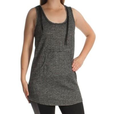 レディース 衣類 トップス JESSICA SIMPSON Womens Gray Hooded Sleeveless Scoop Neck Top Size: M ブラウス&シャツ