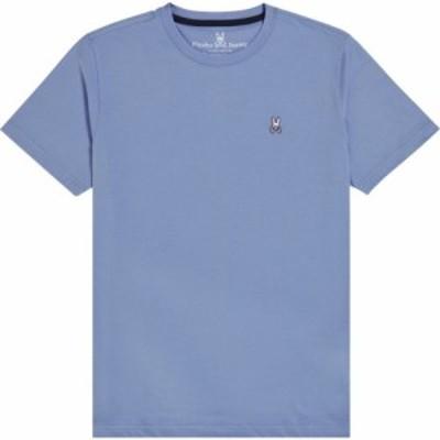サイコバニー PSYCHO BUNNY メンズ Tシャツ トップス Classic Crewneck T-Shirt Lapis Blue