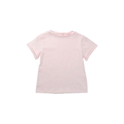 8 by YOOX T シャツ ピンク 3 コットン 100% T シャツ