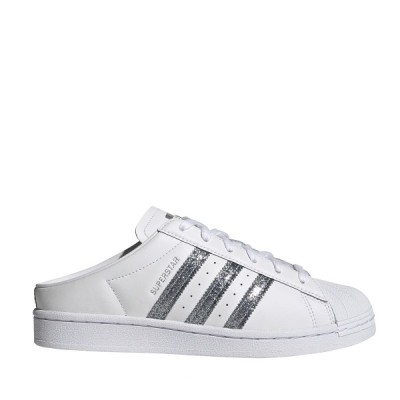 アディダス adidas スニーカー スーパースター ミュール W (FOOTWEAR WHITE/SUPPLY COLOR/SILVERMETALLIC) 21SS-I