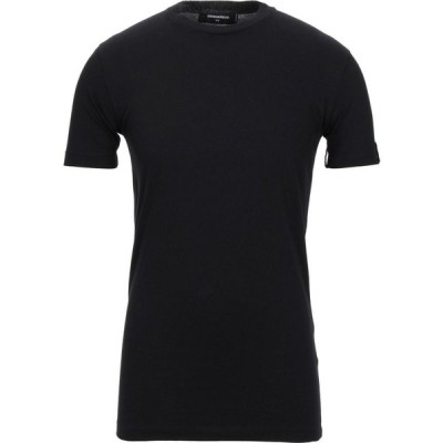 ディースクエアード DSQUARED2 メンズ Tシャツ トップス t-shirt Black