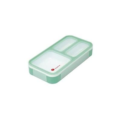 シービージャパン 弁当箱 ミントグリーン 薄型 フードマン 400ml DSK