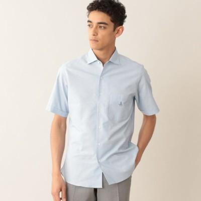 コットンカラミシャツ/サマーシャツ