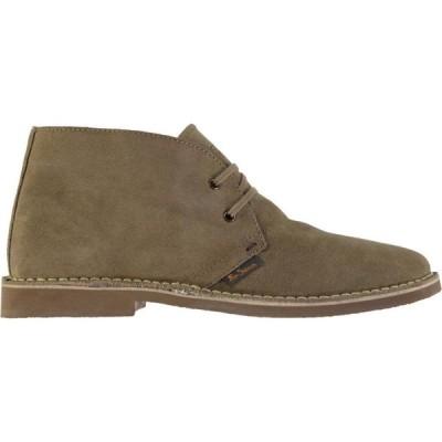 ベンシャーマン Ben Sherman メンズ ブーツ シューズ・靴 Hunt Desert Boots Sand