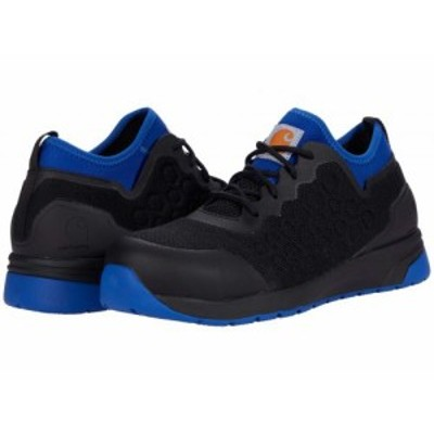 Carhartt カーハート メンズ 男性用 シューズ 靴 スニーカー 運動靴 Day One Safety Comp Toe Black/Blue【送料無料】