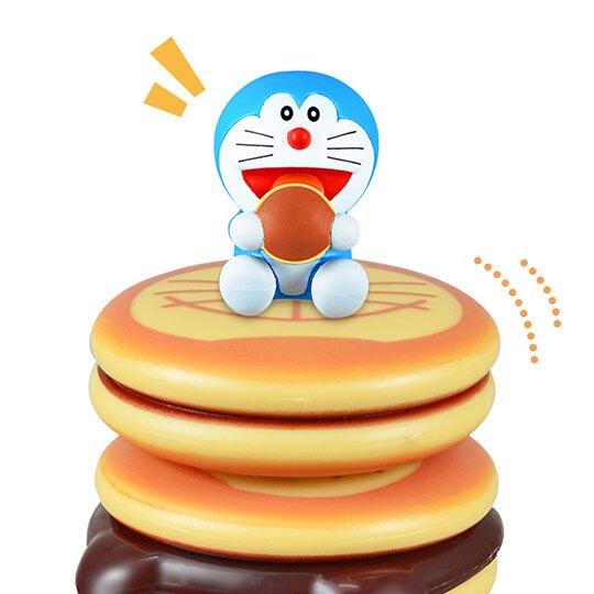 小禮堂 哆啦A夢 疊疊樂玩具 大富翁 黑白棋 益智玩具 兒童玩具 桌遊 銅鑼燒造型 (藍棕)