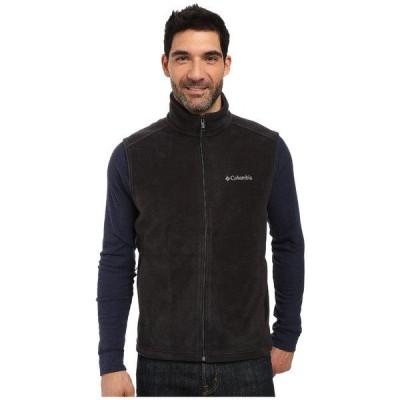 コロンビア コート アウター メンズ Steens Mountain Vest Black
