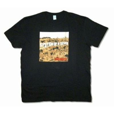 ファッション トップス System Of A Down-Toxcity Album Cover-X-Large Black T-shirt