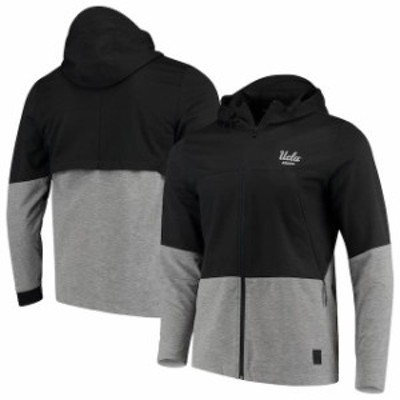 Under Armour アンダー アーマー スポーツ用品  Under Armour UCLA Bruins Charcoal Full-Zip Performance Swacket Jacket