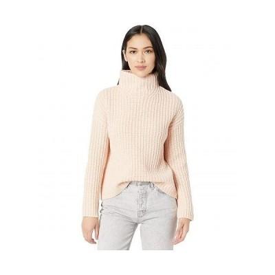 Vince ヴィンス レディース 女性用 ファッション セーター Lofty Rib Turtleneck - Peach Sorbet