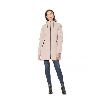 Ilse Jacobsen レディース 女性用 ファッション アウター ジャケット コート レインコート Soft Shell 3/4 Length Functional Rain Coat - Adobe Rose