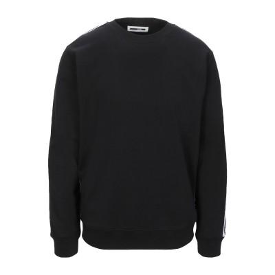 マックキュー アレキサンダー・マックイーン McQ Alexander McQueen スウェットシャツ ブラック 3XL コットン 100% スウ