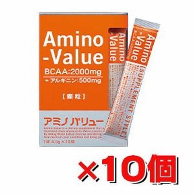 大塚製薬アミノバリュー顆粒 (4.5g×10袋)×10