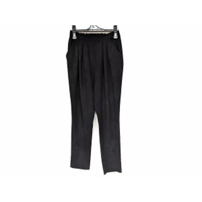 エンフォルド ENFOLD パンツ サイズ36 S レディース - 黒 フルレングス【中古】20210121