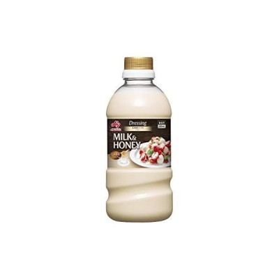 AJINOMOTO 北海道ミルク&ハニー 500mlボトル 新商品 ドレッシング