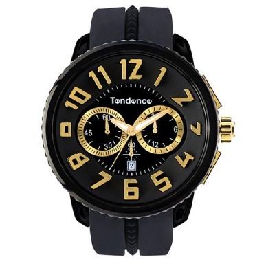 【クーポン利用で10%OFF】ガリバーラウンドクロノ TG460011 Tendence テンデンス メンズ 腕時計 国内正規品 送料無料